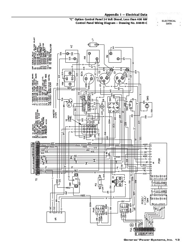 generac 11kw generator wiring schematic generac rv