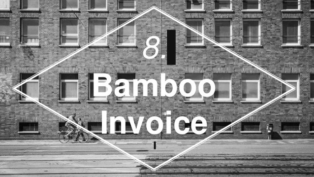 10 Best Free Open Source Invoice Software for Small Business Bamboo Invoice  12