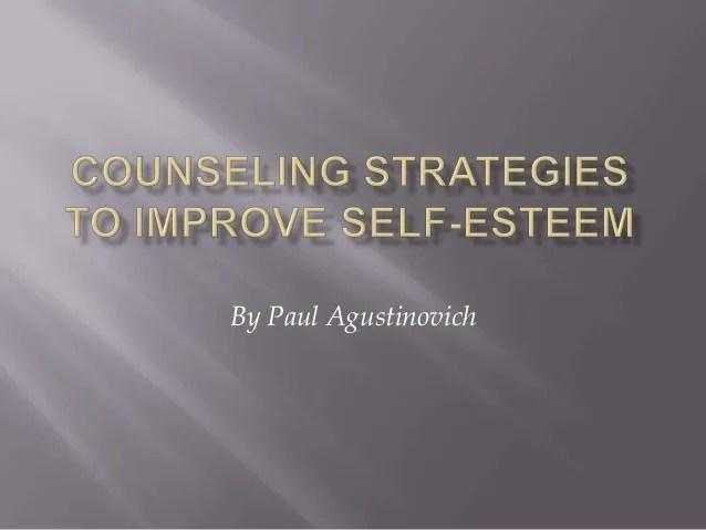 Self Image Improvement Strategies