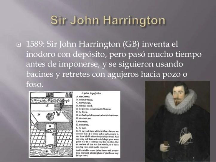 Resultado de imagen para john harrington que invento