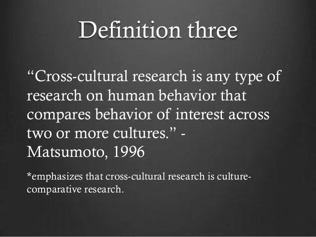 Cross Cultural Psy Intro