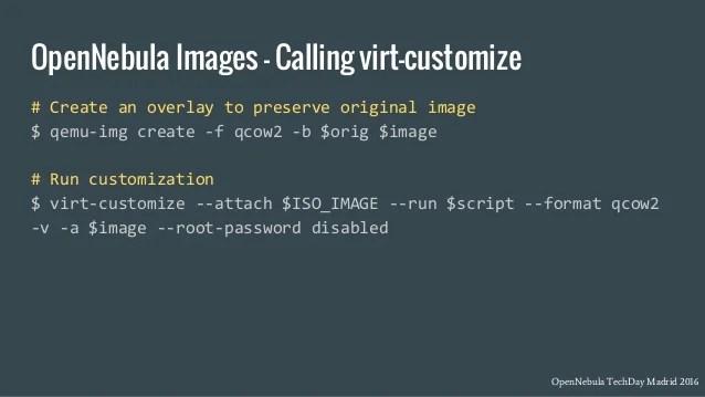 Customizing Virtual Machine Images Javier Font225n