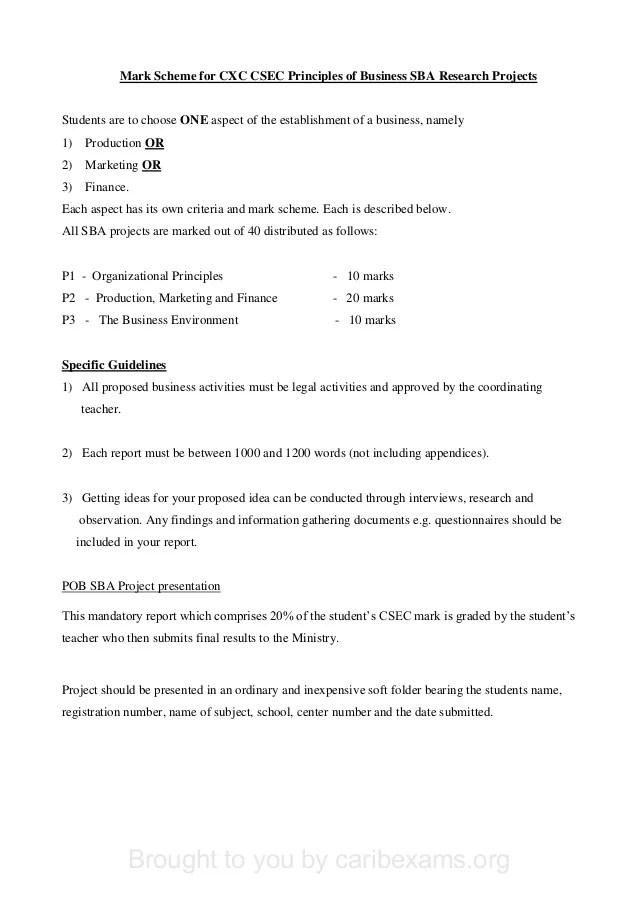 office administration sba report sample