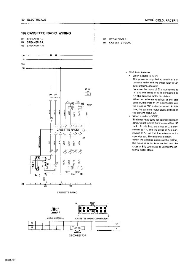 Diagram Daewoo Car Manuals Wiring Diagrams Pdf Diagram Schematic