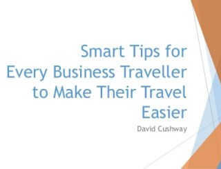 Five Tips For Every Business Traveler