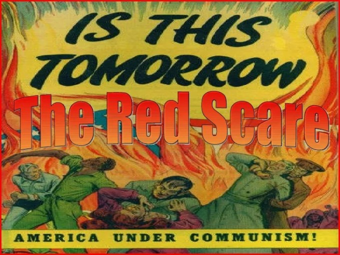「Red Scare」の画像検索結果