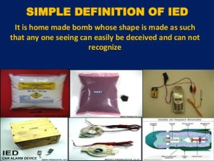 Public Awareness on Defense Against IEDs (Improvised Explosive Device…
