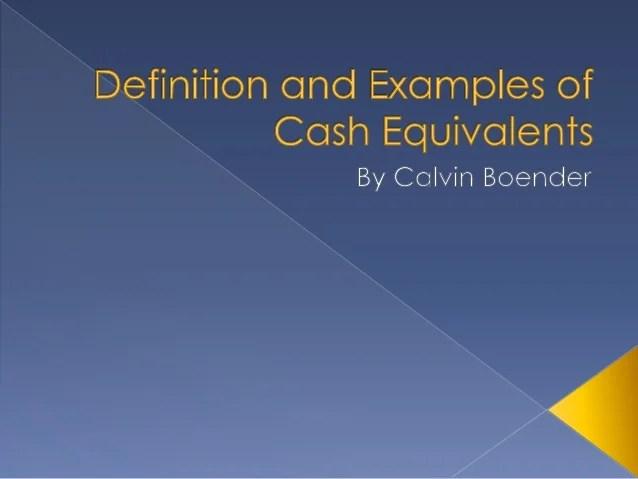 Cash Definition