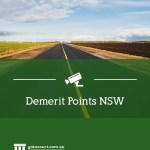 Demerit Points In New South Wales