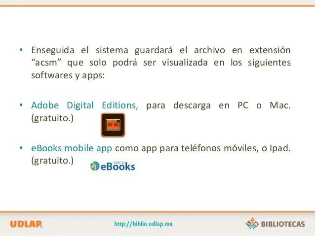 Descarga De Libros Electrónicos En EBooks Collection (EBSCO