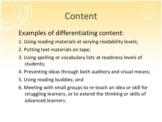Differentiated Reading Instruction Strategies