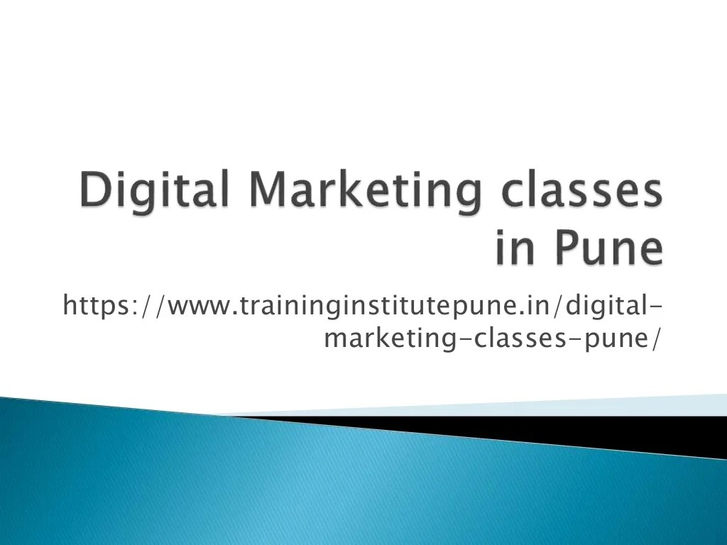 Digital marketing skills are critical not only to those actually working in the field but also to entrepreneurs. Digital Marketing Courses in Pune |Digital Marketing ...