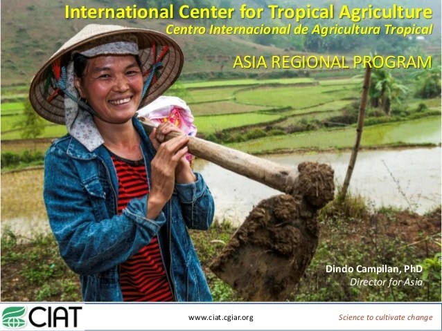 International Center for Tropical Agriculture Centro ...