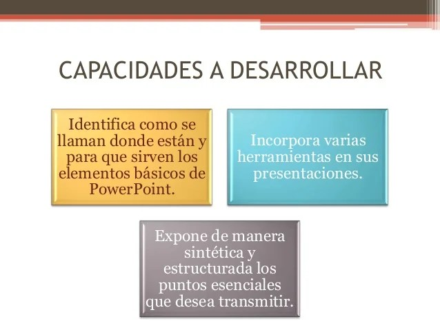 Diseo Modulo De Capacitacin Powerpoint