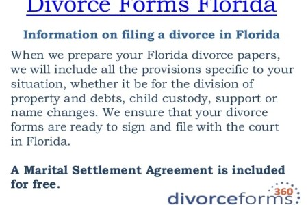 Marital Settlement Agreement Form Florida Choice Image Agreement