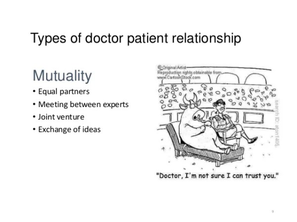 We're Not There Yet on Doctor-Patient Relationships