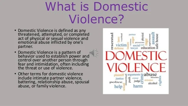 Domestic Violence And Abuse Statistics