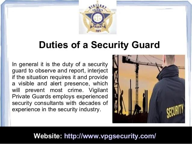 Web Security Job Description