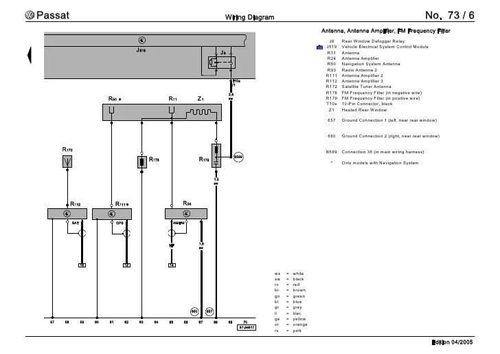 Amp Wiring Diagram For 2006 Passat | Wiring Diagram