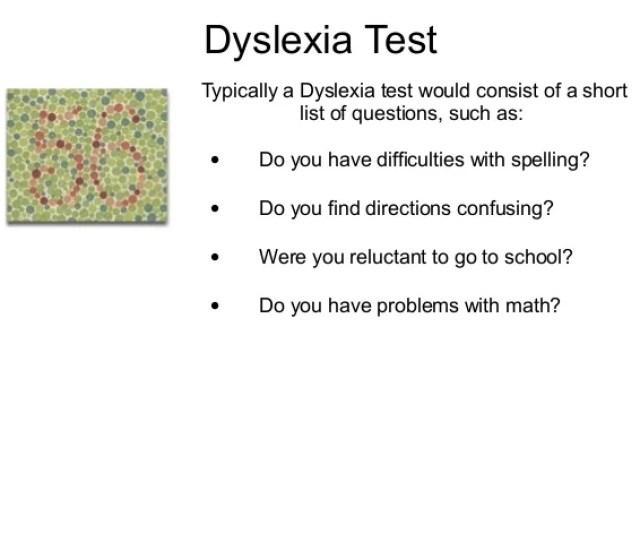 Dyslexia Testtypically