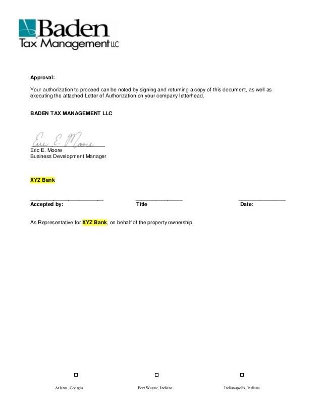 Sample Proposal Oreo Property Tax Service 2011 Amp 2012