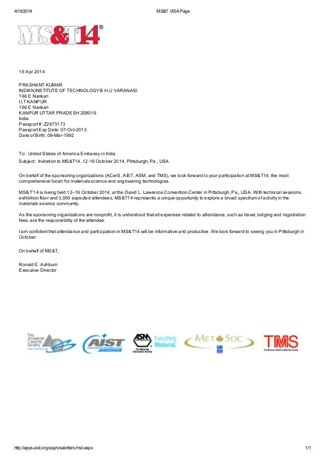 ms t meeting invitation letter