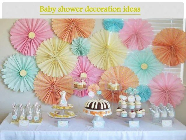 Easy Baby Shower Decorations