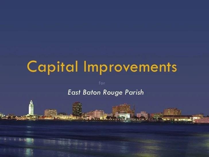 Baton Rouge Capital Improvements Project
