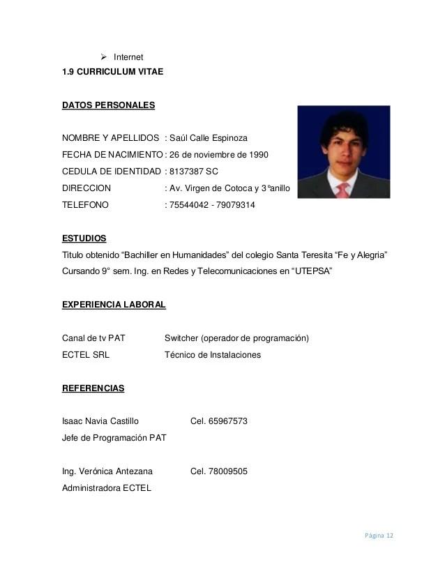 Curriculum Vitae Modelo1 Oscuro Jose Luis Modern Home Revolution