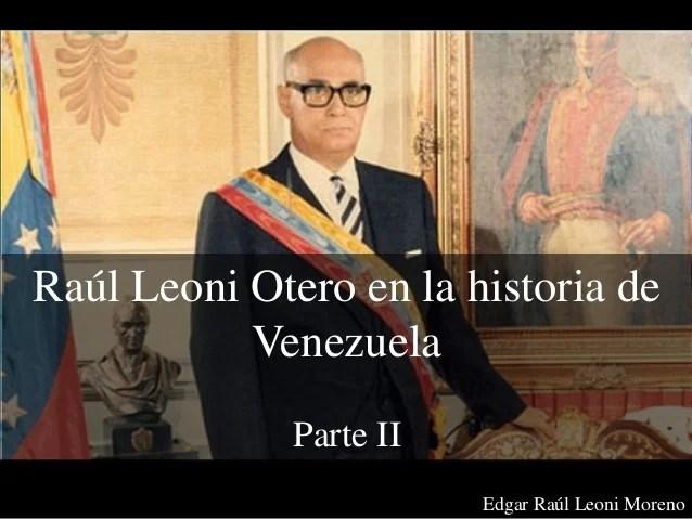 Resultado de imagen para Fotos de Raúl Leoni