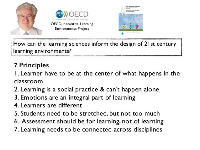 Image result for 7 principles of learning oecd