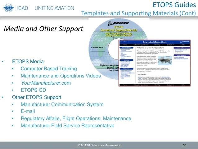 Edto module 5 –maintenance considerations
