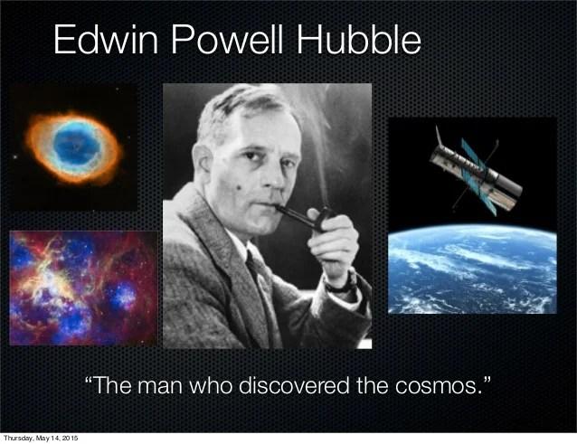 Edwin hubble powerpoint 2