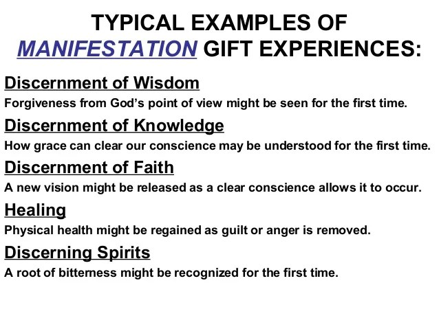 Signs Of The Spiritual Gift Discernment Giftsite Co