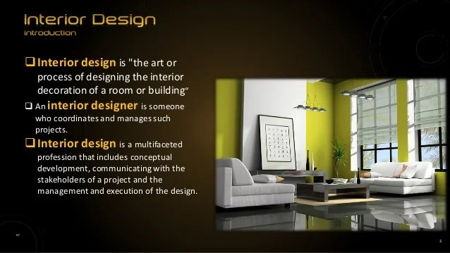 Elements and principles of interior design powerpoint for Basic elements of interior design