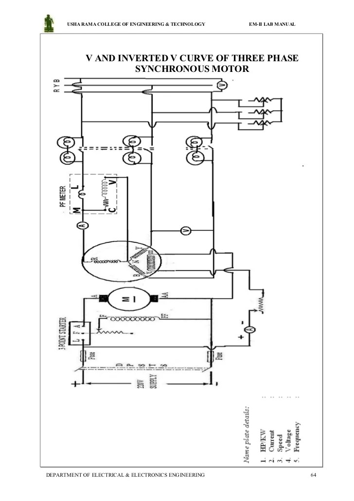 Electrical machines 2 lab manual