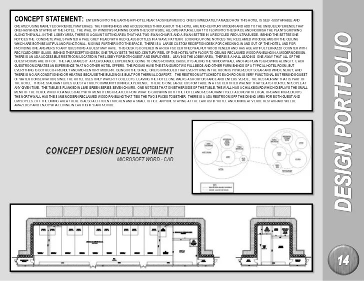 Examples Of Interior Design Concept Statements