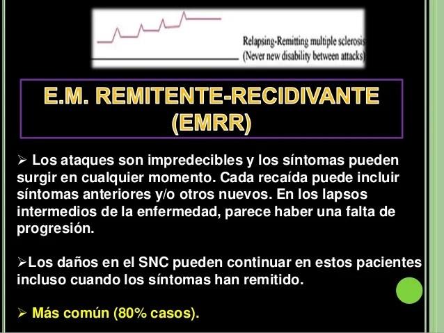 Resultado de imagen de foto Esclerosis Múltiple Remitente-Recurrente (EMRR)