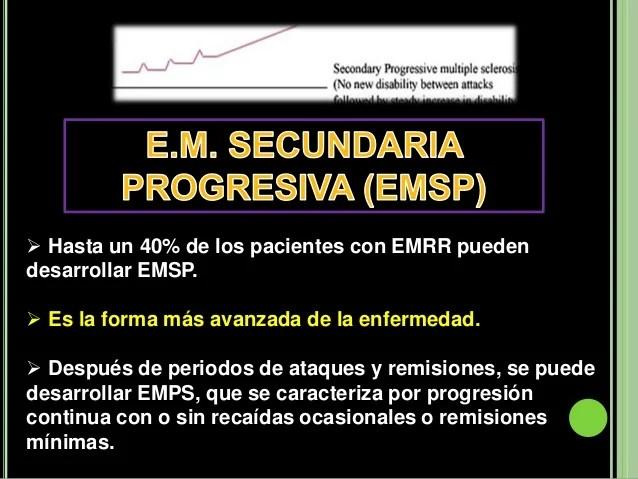 Resultado de imagen de foto Esclerosis Múltiple Secundaria-Progresiva (EMSP)