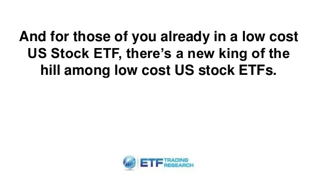 A New Low Cost Stock ETF For 2016