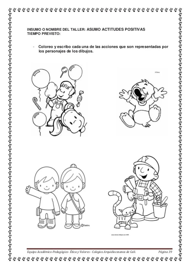 Dibujos Honestidad Para Colorear De