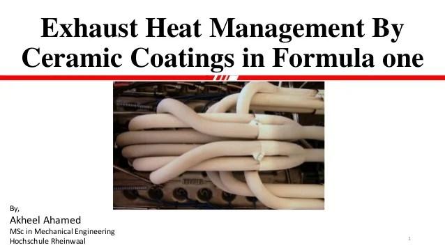 ceramic coatings in formula one
