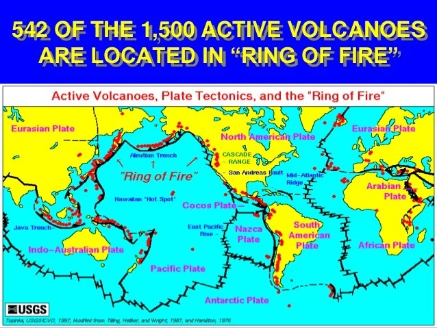 Map Inactive 2013 Volcanoes And Active World