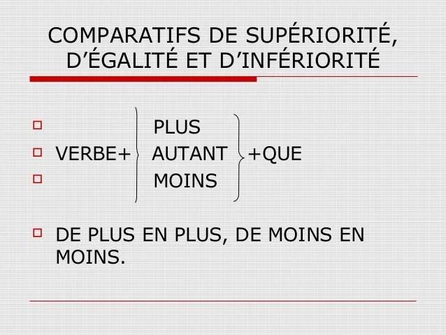 3º ESO. Les comparatifs « Francale