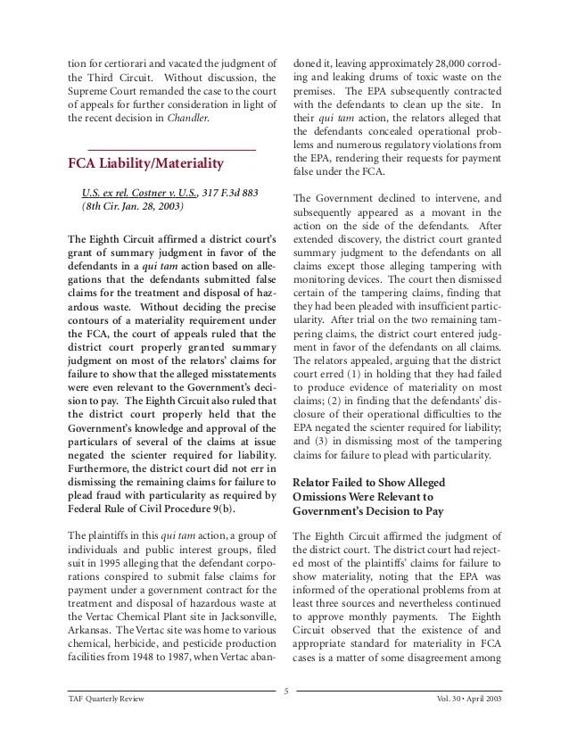 Nursing Home Liability Article reprint TAF Apr03qr