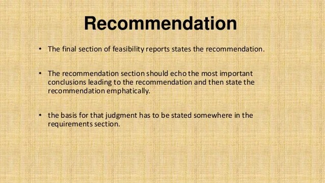 Example Of Summary Conclusion And Recommendation In