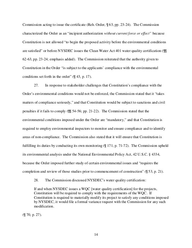 NY AG Schneiderman's Petition of FERC to Investigate the ...