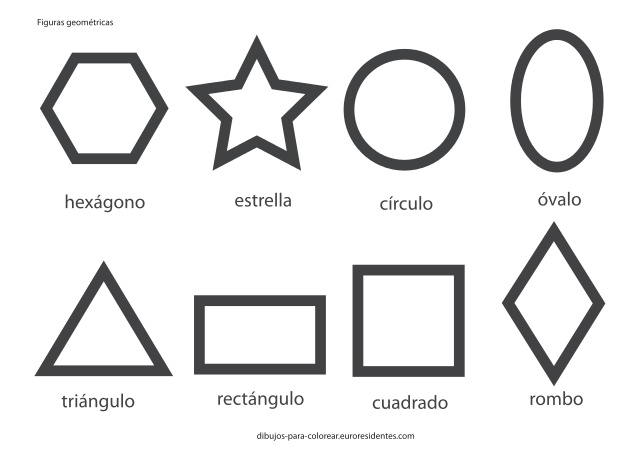 figuras geometricas diamante para imprimir