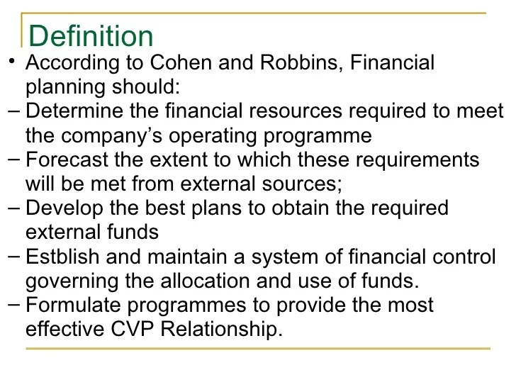 Provide Financial Security Definition