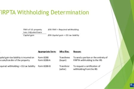 Free Resume Sample Firpta Withholding Certificate Resume Sample
